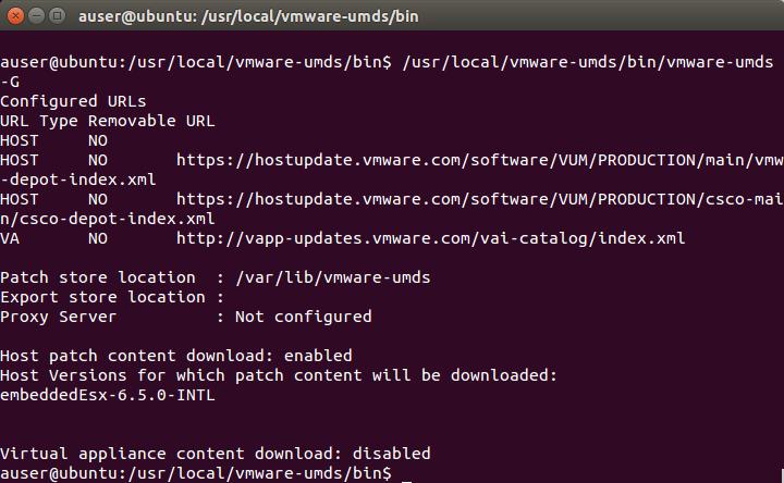 VMware UMDS – Securing vSphere Patching - Xtravirt