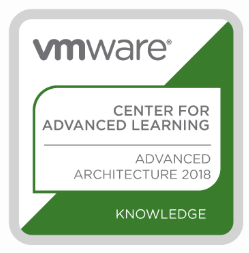 VMware Center for Advanced Learning, Advanced Architecture 2018