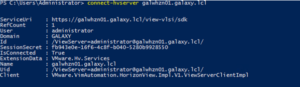 PS C:\Users\Administrator>connect-hvserver galwhz01.galaxy.lcl