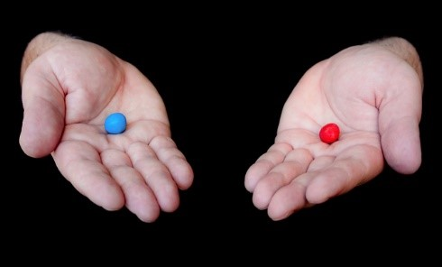 Choose Your Poison - Blue pill Red pill