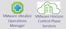 VMware vRealize Operations Manager - VMware Horizon Control Plane Services
